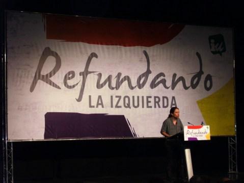 Pablo Iglesias Turrión, 28 de noviembre de 2009